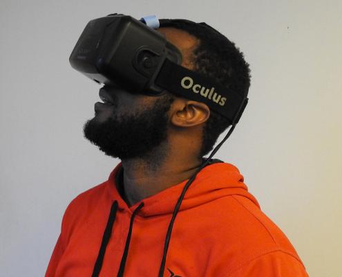 Casque VR pour visite virtuelle 3d et 360 degrés de 3D Swiss View en Suisse