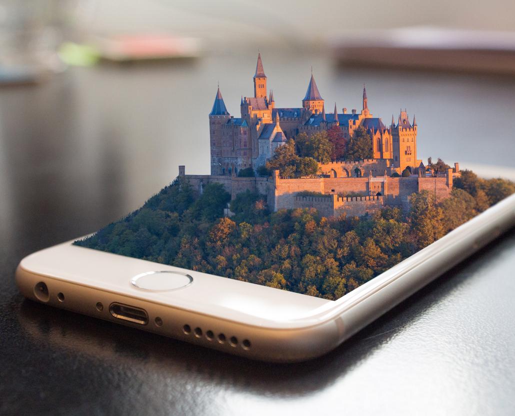 fonctionnement d'une visite virtuelle 3D et 360 degrés par 3D Swiss View, Genève, Valais, Suisse