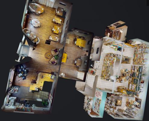 possibilités de visualisation 360 degrés pour visite virtuelle 3D Swiss View