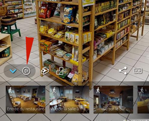Visite guidéé d'une visite virtuelle 360 degrés, 3D Swiss View, Genève, Vaud, Valais, Suisse