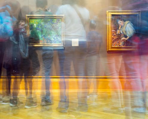 Visite virtuelle 3D Immersive galerie d'art