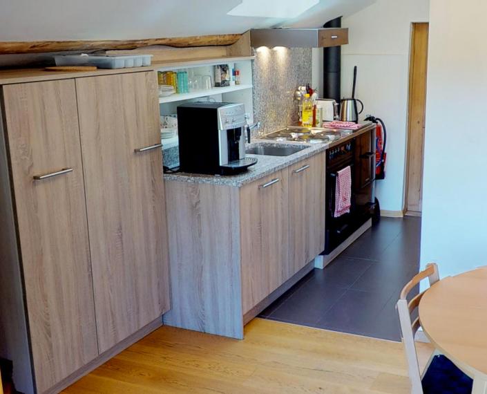 Visite virtuelle 360 degrés appartement à Unterbäch, Valais, Suisse