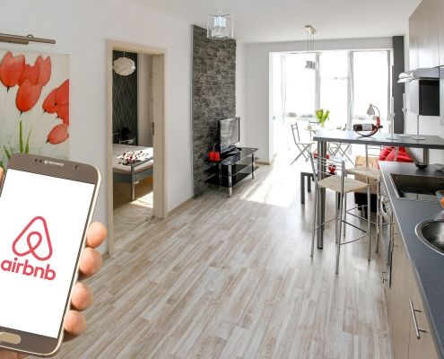Visite Virtuelle 3D Swiss View et Airbnb