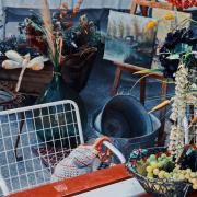 Foire de la brocante à Martigny pour agenda de 3D Swiss View, Valais, Suisse