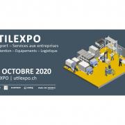 Image de la banière du salon UTILEXPO à Genève pour l'agenda de 3D Swiss View à Martigny, Valais. Le spécialiste de la visite virtuelle 3D, 360 degrés et immersive en Suisse