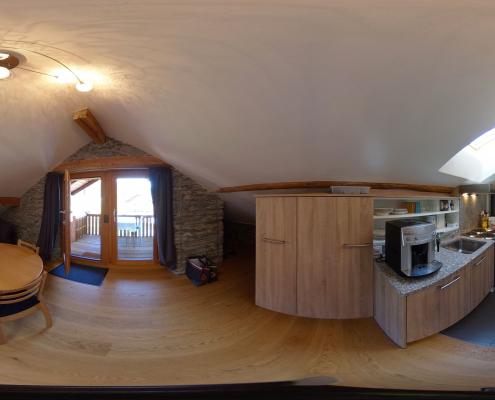 Image pour visite virtuelle 360° degrés pour 3D Swiss View et Matterport