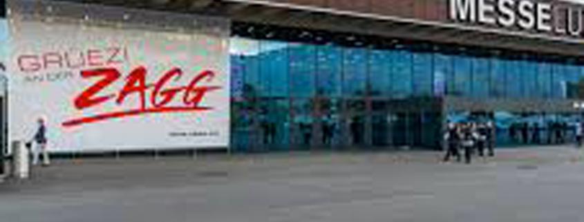Zagg, Salon pour l'hôtellerie, la restauration et le tourisme à Lucerne, pour l'agenda de 3D Swiss View à Martigny, Valais, Suisse