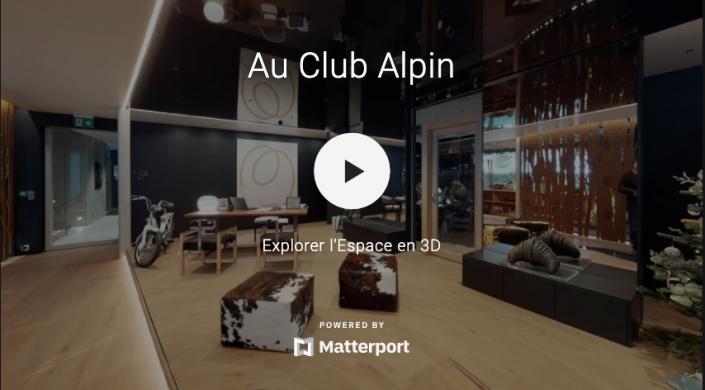 """Visite virtuelle de l'hôtel 5 Etoiles """"Au Club Alpin"""" à Champex-Lac"""