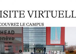 Visite virtuelle de la HEAD - Haute Ecole D'art et de Design à Genève en remplacement des portes ouvertes