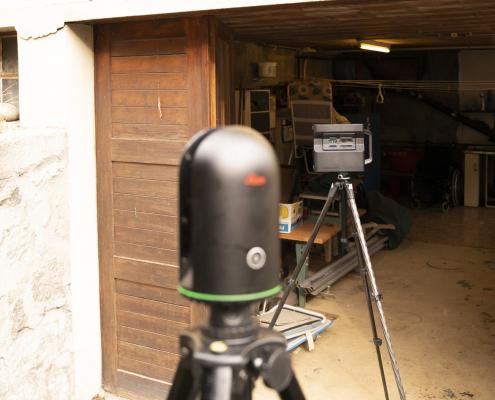 Caméra Matterport Pro 2 et Leica BLK 360